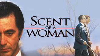 Netflix box art for Scent of a Woman