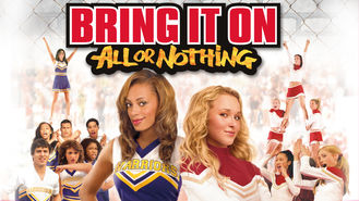 Netflix box art for Bring It On: All or Nothing