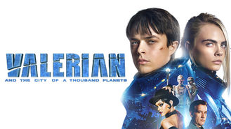 Valerian and the City of a Thousand... (2017) on Netflix in the Netherlands