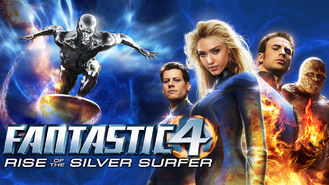 Netflix box art for Fantastic 4: Rise of the Silver Surfer