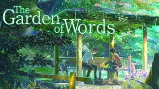 Netflix Box Art for Garden of Words, The