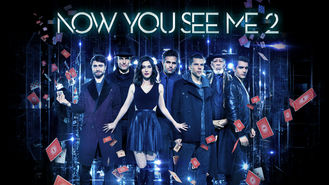 Netflix box art for Now You See Me 2